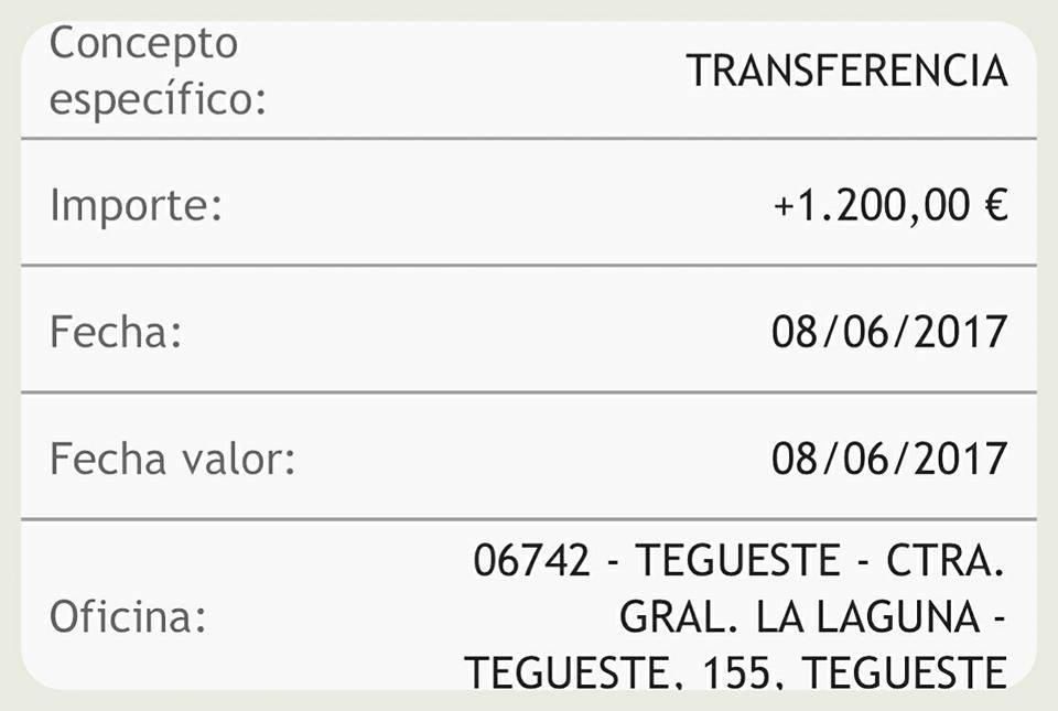DESDE EL Ceip Teófilo Pérez Tegueste 1.200 EUROS PARA LA LUCHA CONTRA EL CÁNCER INFANTIL ¿ Y TU COLABORAS CON NOSOTROS?