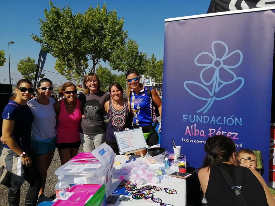Madrid se une a la lucha contra el cancer infantil que lidera la Fundación Alba Perez