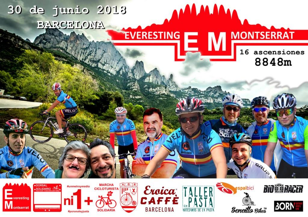 Everesting Montserrat… ¿Quieres Ser Parte De Un Sueño?