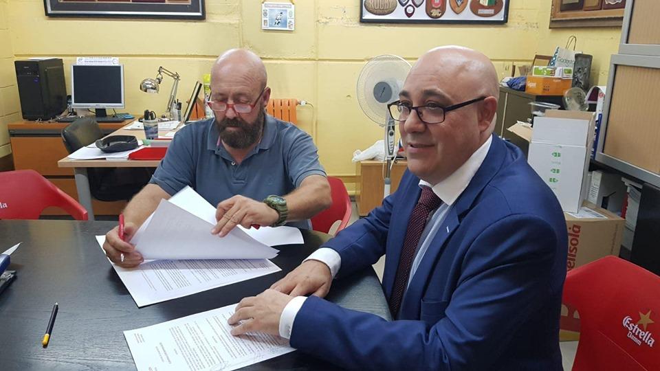 Nuevo convenio de colaboración entre el Club de Rugby Hospitalet y la Fundación Alba Perez