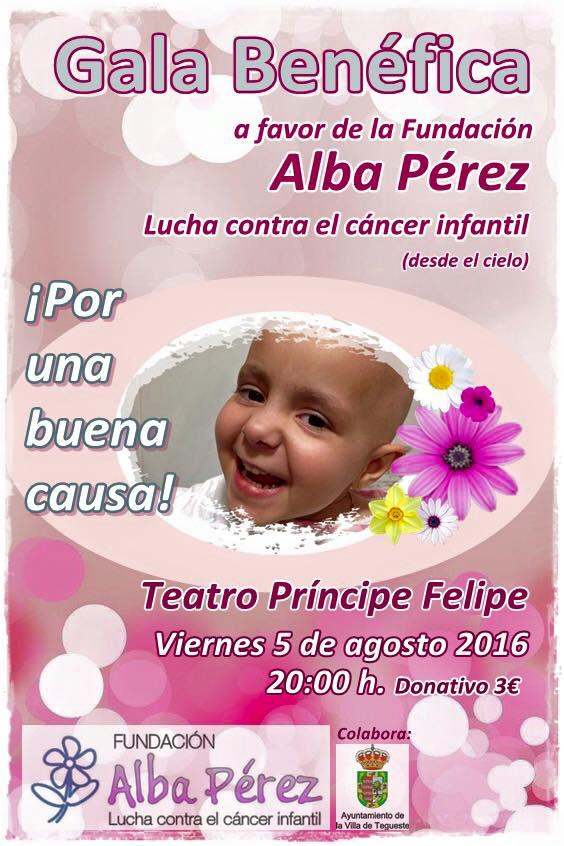 Evento en Tenerife el dia 5 de Agosto de 2016 a las 20:00 horas