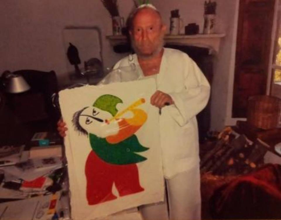 El artista castellonense Juan García Ripollés nos cede un cuadro de gran valor para subastarlo y recaudar fondos para la investigacion del cancer infantil. pincha en: VER MAS