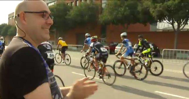 Marcha ciclista a favor de la Fundación Alba Perez.