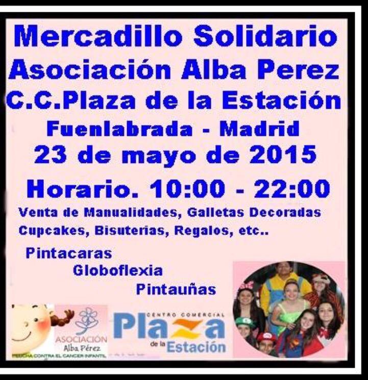 Mercadillo Solidario en FUENLABRADA