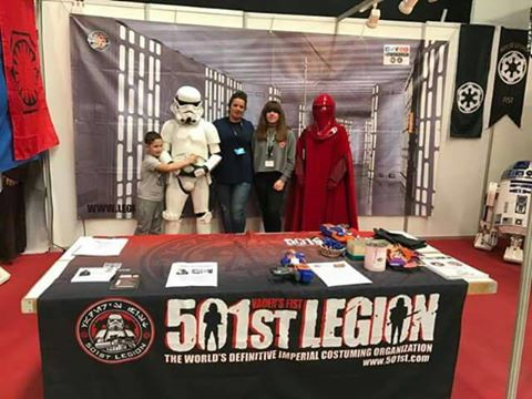 Muchas gracias a todos los voluntarios por vuestra dedicación gracias a la Legión 501 y a star props